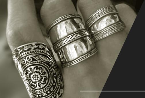 Заказные эксклюзивные кольца из серебра