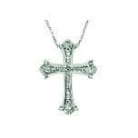 Крестик серебряный на заказ из каталога мастерской-студии Golden Caster