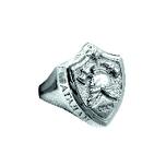 Перстень серебряный на заказ из каталога мастерской-студии Golden Caster